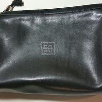 Vintage Sac Givenchy Small Black Clutch Photo