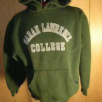 Vintage Sarah Lawrence College Sweat Hoodie - Unisex - Size Large Photo