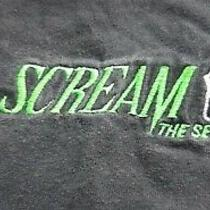 Vintage Scream 2 Movie Prop Official Crew Shirt Very Rare Neve Campbell 1997 L Photo