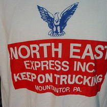 Vintage Screen Stars North East Express Keep on Trucking Mountain Top Pa Shirt Photo