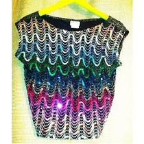Vintage Sequin Top  Avon Fashion Photo