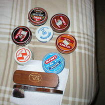 Vintage Shoe Shine Items Photo