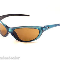  Vintage Smith Optics Zipper Sunglasses Aqua Blue Frames/brown Glass Lenses  Photo