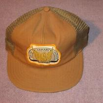 Vintage Snapback Trucker Hat / Cap Carhartt Centennial  Usa Made Mesh Photo