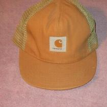Vintage Snapback Trucker Hat / Cap Carhartt  Usa Made Mesh Photo