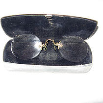 Vintage Spectacles Eye Glasses in Case   Photo