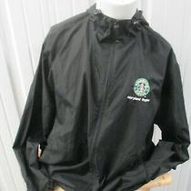 Vintage Starbucks Coffee Maryland Region Sewn Staff Issued Xl Coach Blk Jacket  Photo