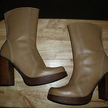Vintage Steve Madden Boots Size 10 Tan 9/10 Condition Photo
