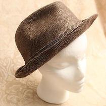 Vintage Stevens Brown Wool Fedora Men's Hat 7 1/2 Photo