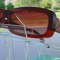 Vintage Sunglass Bvlgari Made in Italy Color Wine Tortishell. Photo