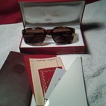Vintage Sunglasses Cartier Paris Panama Gold Plated Nos  Photo