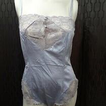 Vintage Teddy Light Blue and Lace Size M Name Brand Blush Photo