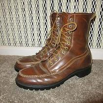 Vintage Timberland Hunting Work High Boots Insulated Leather Made Usa Men's 11 Photo
