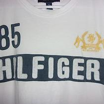 Vintage Tommy Hilfiger Logo Spell Out 85 1990's Logo Rare T-Shirt Xxl / 2x Photo