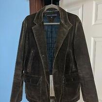 Vintage Tommy Hilfiger-Mens Corduroy Blazer Coat Jacket 38 S/p. Brown Lined Photo