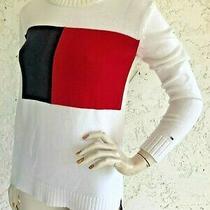 Vintage Tommy Hilfiger Sweater Long Sleeve Logo Size Xs  Photo