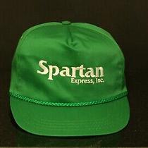 Vintage Trucker Hat - Americap u.s.a. - Cloth Snapback - Spartan Express  Photo