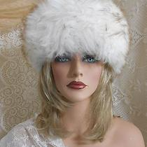 Vintage Tuscan Cossack Lamb Skin Shaggy Fur Hat-Nos With Tags- Made in Italy Photo