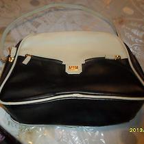 Vintage Unique Rare Xoxo Black & Off White Cream Colored Bowling Purse Handbag Photo