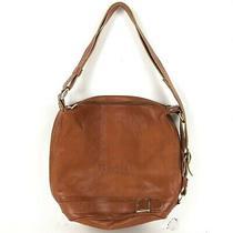 Vintage Valentina Brown Pebbled Leather Bucket Purse Bag Hobo Photo