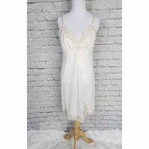 Vintage Van Raalte Blush Pink Nylon Slip Nightgown Dress  Photo