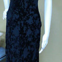 Vintage Velvet Burnout Express International Maxi Dress Photo