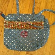 Vintage Vera Bradley Diaper Bag With Monogram Photo