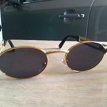 Vintage Versace Sunglasses With Case 90s Style Look Photo