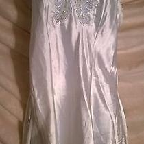 Vintage Victoria's Secret Ivory Gown With Sheer Matching Shawl Size Large Photo