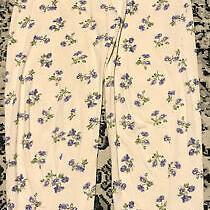 Vintage Victorias Secret Lounge Pajama Pants Blush Pink Floral Sz Small Cotton Photo