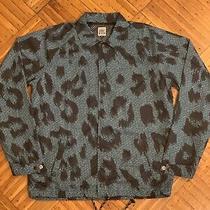 Vintage Vision Street Wear Mens Leopard Digital Coaches Jacket M Gonz Skateboard Photo