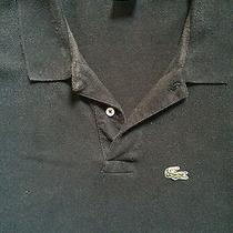 Vintage Vtg Izod Lacoste Grand Patron Polo Black Extra Large Mens Xl Ss Photo