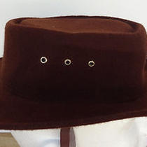 Vintage Western Express Inc Kids Cowboy Hat Brown Size 6 & 5/8 Us 53 Mexico Photo