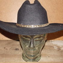 Vintage Western Express Inc. Warrior West Size 7 Felt Cowboy Hat Photo