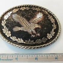 Vintage Western Style Eagle Belt Buckle Photo