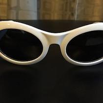 Vintage White Gucci Sunglasses  Photo