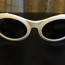 Vintage White Gucci Sunglasses  Photo