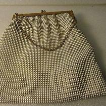 Vintage Whiting and Davis Beaded Purse Stamped u.s.a. Photo