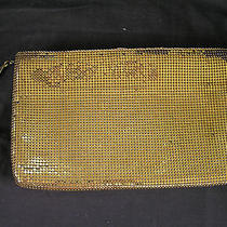 Vintage Whiting and Davis Gold Mesh Clutch Evening Bag Made in Usa Photo