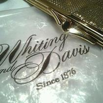 Vintage Whiting and Davis Gold Mesh  Purse Pocketbook Clutch  Bag New With Box Photo