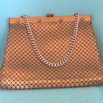 Vintage Whiting and Davis Mesh Handbag in Matte Gold Photo