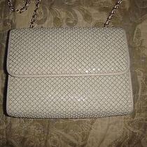 Vintage Whiting and Davis Off White Mesh Purse Handbag Photo