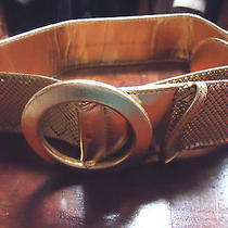 Vintage Whiting Davis 34 Inch Gold Mesh With W.german Buckle Belt Signed Sz Sm-M Photo