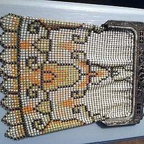 Vintage Whiting & Davis Art Deco Mesh Handbag Photo
