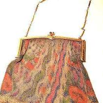 Vintage Whiting & Davis Art Deco Mesh Purse  Photo