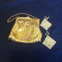 Vintage Whiting & Davis Bag With Earrings  Photo