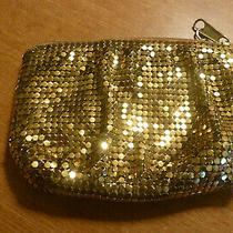 Vintage Whiting & Davis Gold Mesh Coin Purse 3 1/2