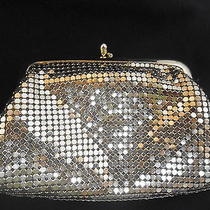 Vintage Whiting & Davis Gold Mesh Coin Purse Marked Inside  Photo