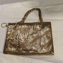 Vintage Whiting & Davis Gold Mesh Evening Purse W/ Matching Necklace Photo