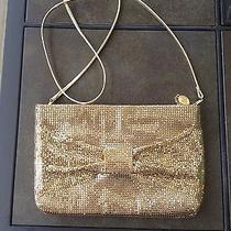 Vintage Whiting & Davis Gold Mesh Purse Hand Bag Shoulder Bag Photo